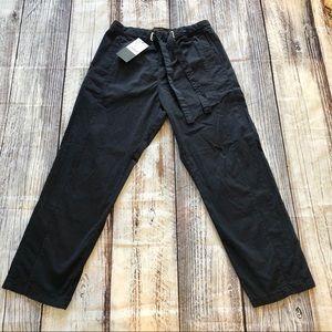ZARA Men's Relaxed Navy Trouser Pant